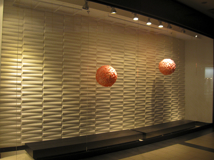 Witryna w ekskluzywnym salonie