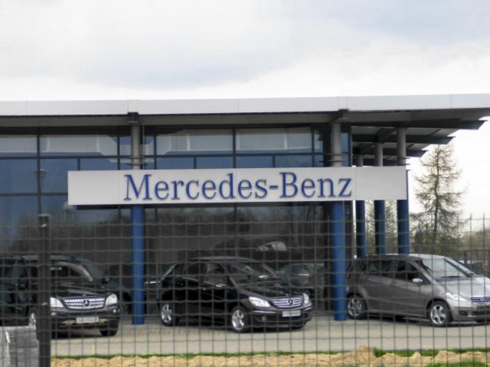 Mercedes Benz-Bydgoszczu