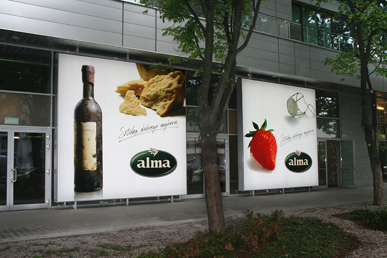 Alma-Warszawa, hipermarket przy ul. Grójeckiej